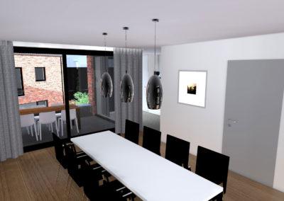 Bouw appartementen Bree